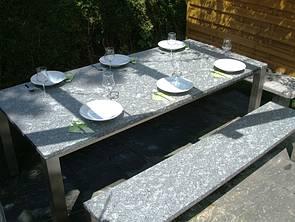 tischgestelle tischplatten esstisch granit gartenm bel. Black Bedroom Furniture Sets. Home Design Ideas
