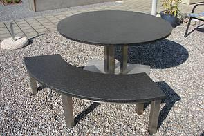 tischgestelle tischplatten esstisch granit gartenm bel wetterfest gartentisch granit. Black Bedroom Furniture Sets. Home Design Ideas